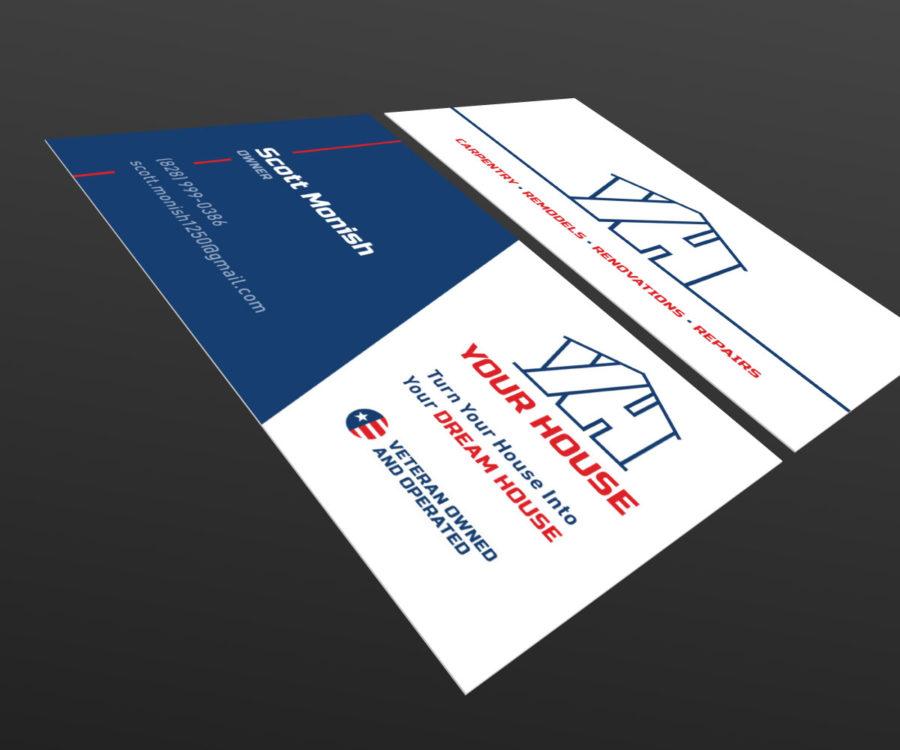 Reverie media your house business card your house business card colourmoves
